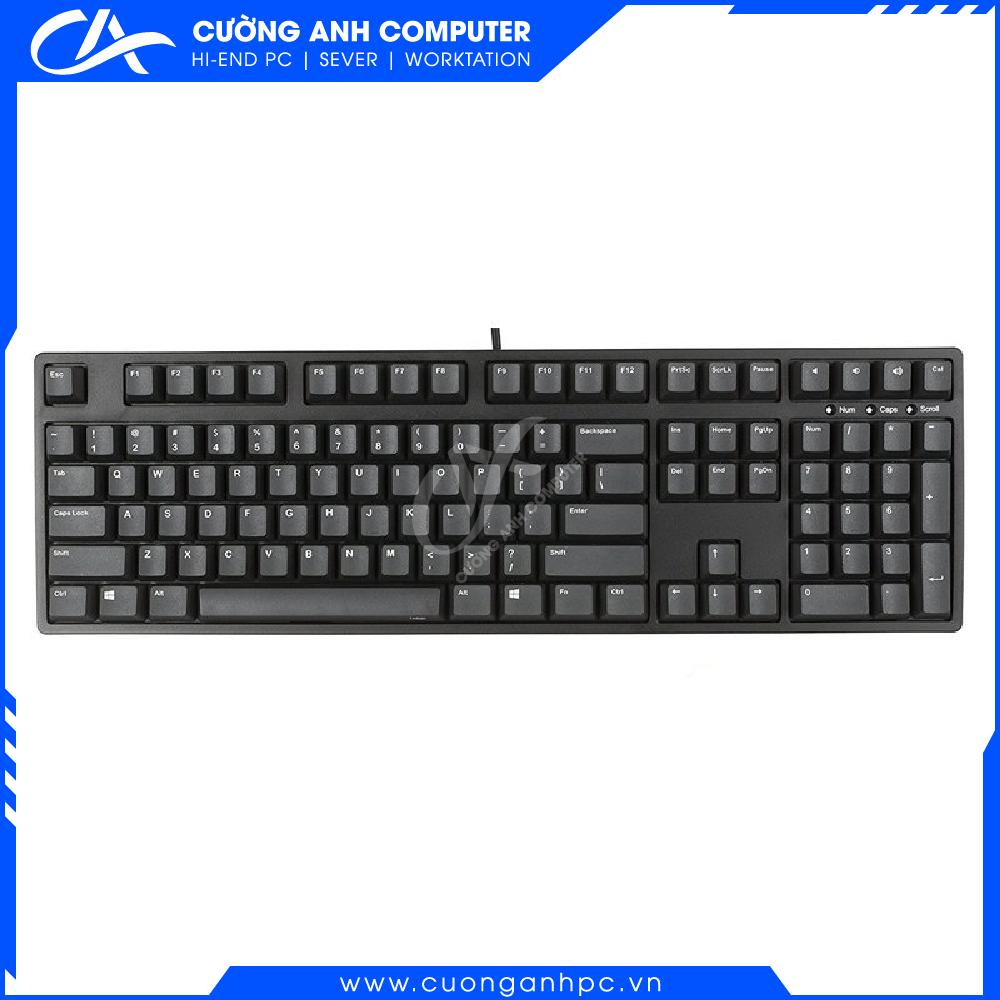 Bàn phím cơ iKBC CD 108 Doubleshot v2 Blue switch Black-PBT Keycaps