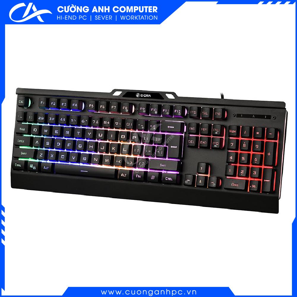 Bàn phím giả cơ E-Dra EK701 Gaming (Black)