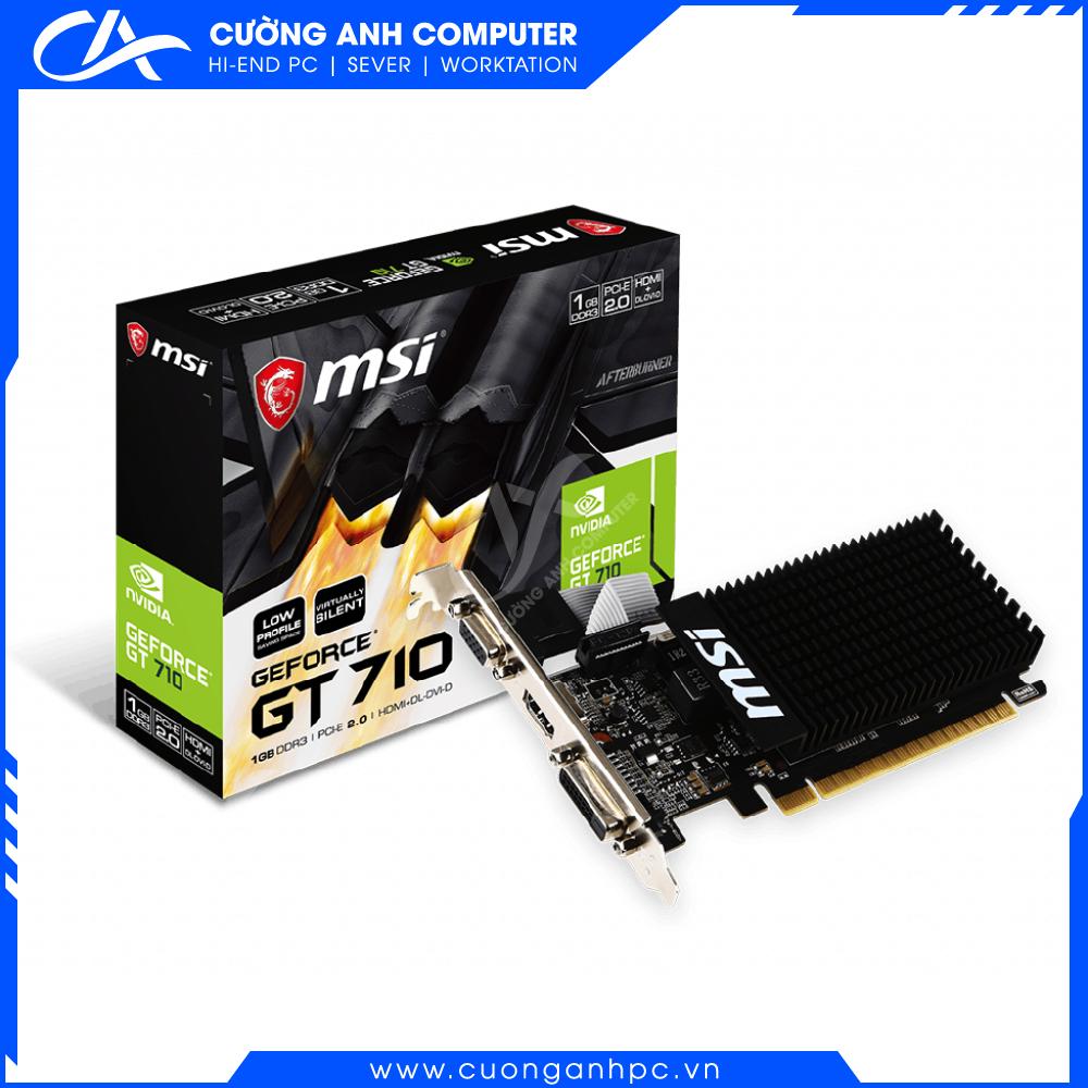 VGA MSI GT 710 1GD3H LP