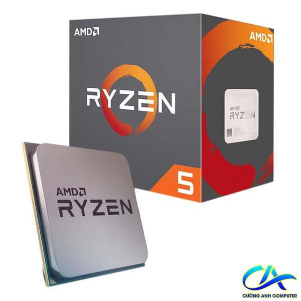 CPU AMD Ryzen 5 2600 3.4 GHz (3.9 GHz with boost) / 19MB / 6 cores 12 threads / socket AM4