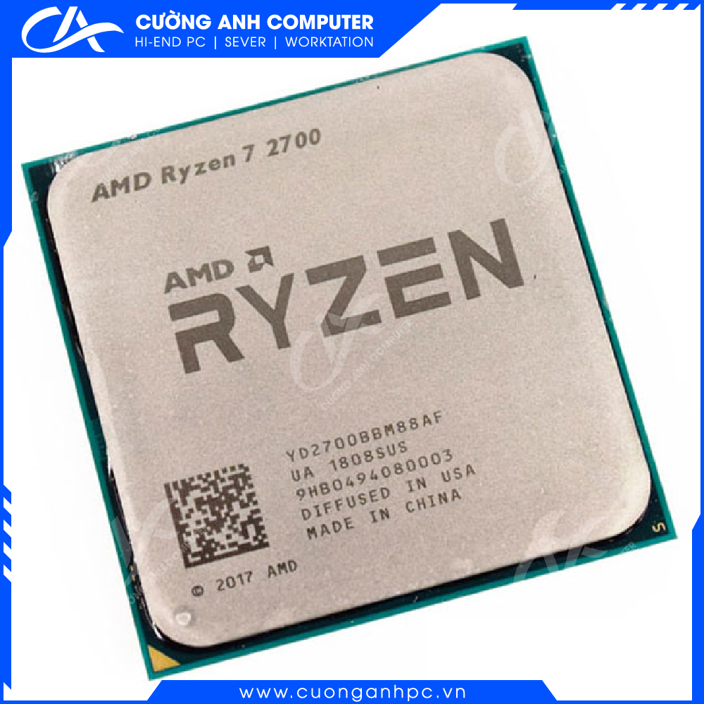 CPU AMD Ryzen 7 2700 Tray