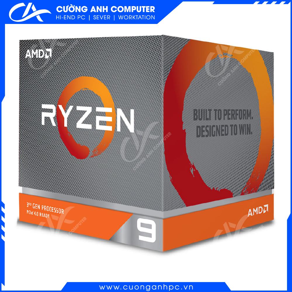 CPU AMD Ryzen 9 3900 (3.1GHz-4.3GHz 12 Cores/24 Threads)