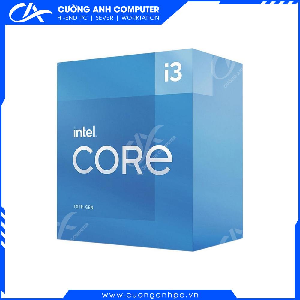 CPU Intel Core i3-10105 (3.7GHz turbo up to 4.4Ghz, 4 nhân 8 luồng, 6MB Cache, 65W) - Socket Intel LGA 1200