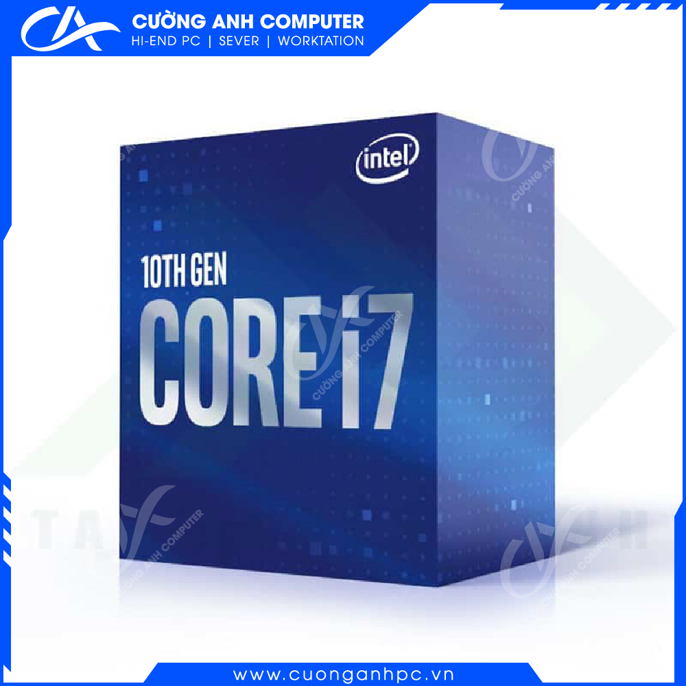 CPU Intel Core i7-10700 (2.9GHz up to 4.8GHz, 8 core 16 Threads, 16MB Cache, 65W)