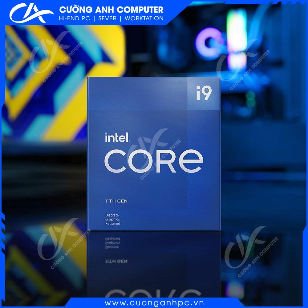 CPU Intel Core i9-11900 (2.5GHz Turbo 5.2GHz, 8 nhân 16 luồng, 16MB Cache, 65W)