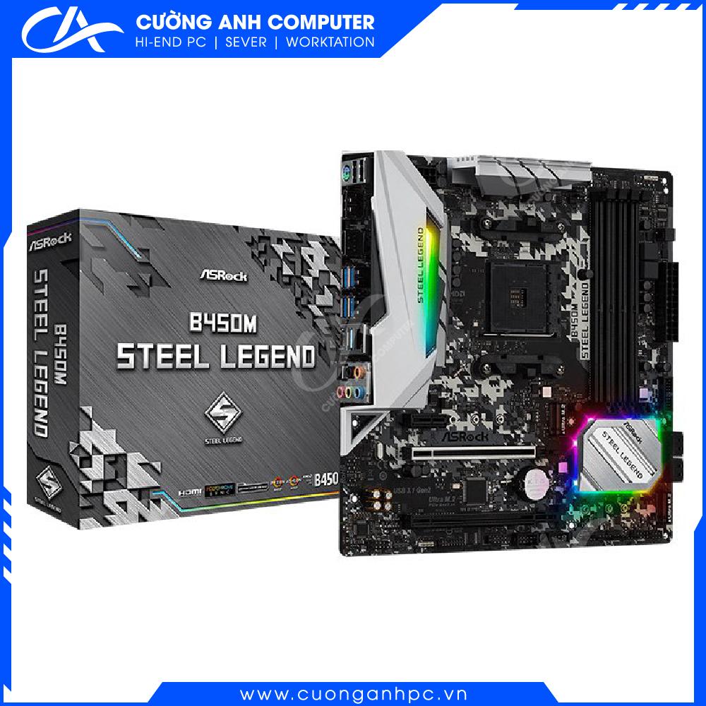 Mainboard ASRock B450M Steel Legend