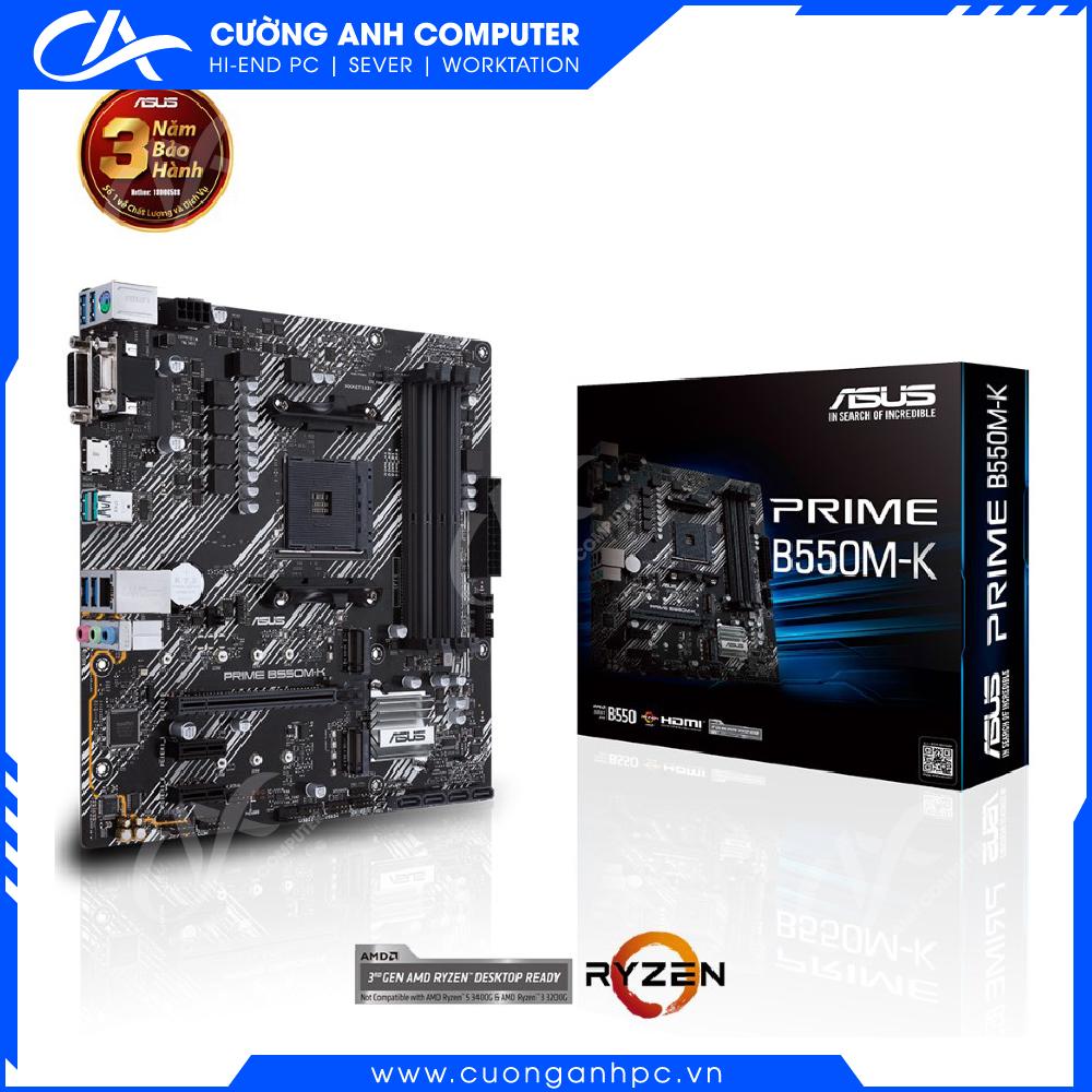 Mainboard ASUS PRIME B550M-K Socket AM4