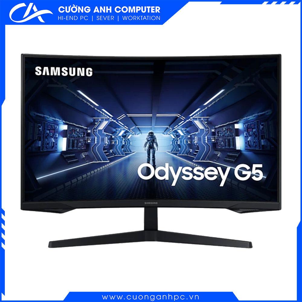 Màn hình cong Samsung LC32G55TQWEXXV 32inch/WQHD/VA/144Hz/1ms/250nits/HDMI+DP/FreeSync