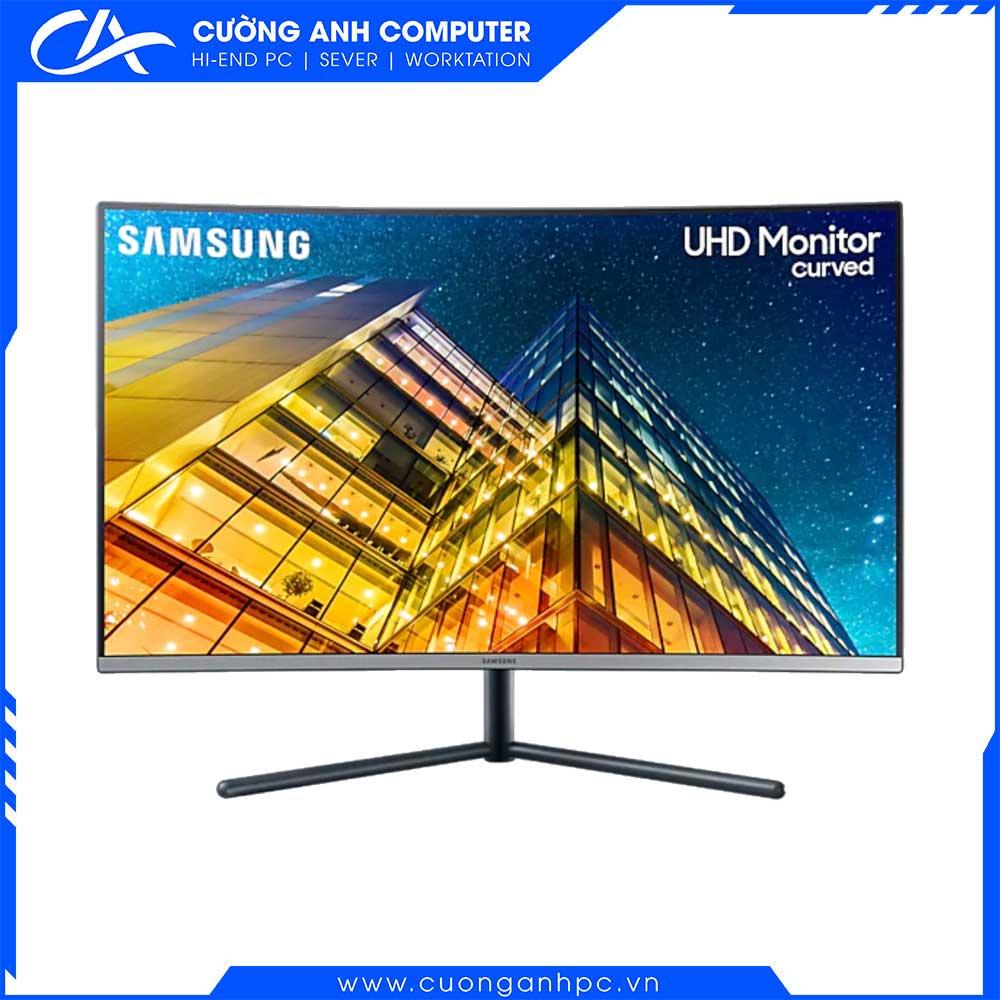 Màn hình cong Samsung UHD LU32R590CWEXXV 31.5 inch/UHD4K/LED/250cd/m²/DP+HDMI+VGA/60Hz/5ms