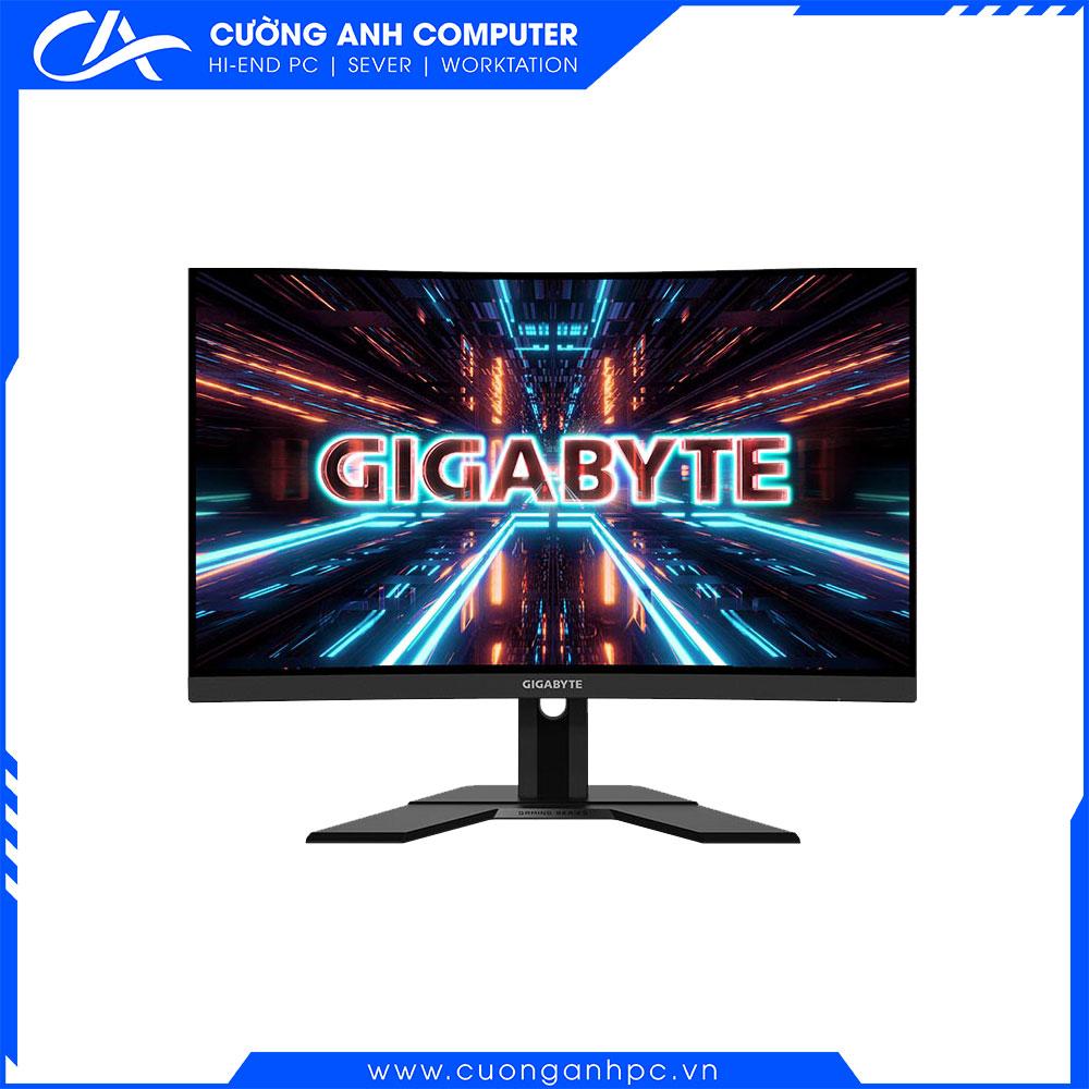 Màn hình Gigabyte G27FCA-EK (27 inch/FHD/VA/165Hz/1ms/250 nits/HDMI+DP/Cong)