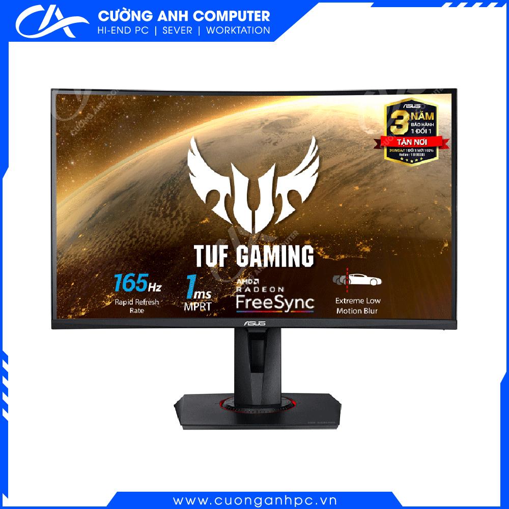 Màn hình máy tính Asus TUF GAMING VG27VQ Cong Full HD (1920x1080), 165Hz, FreeSync ™, 1ms (MPRT)