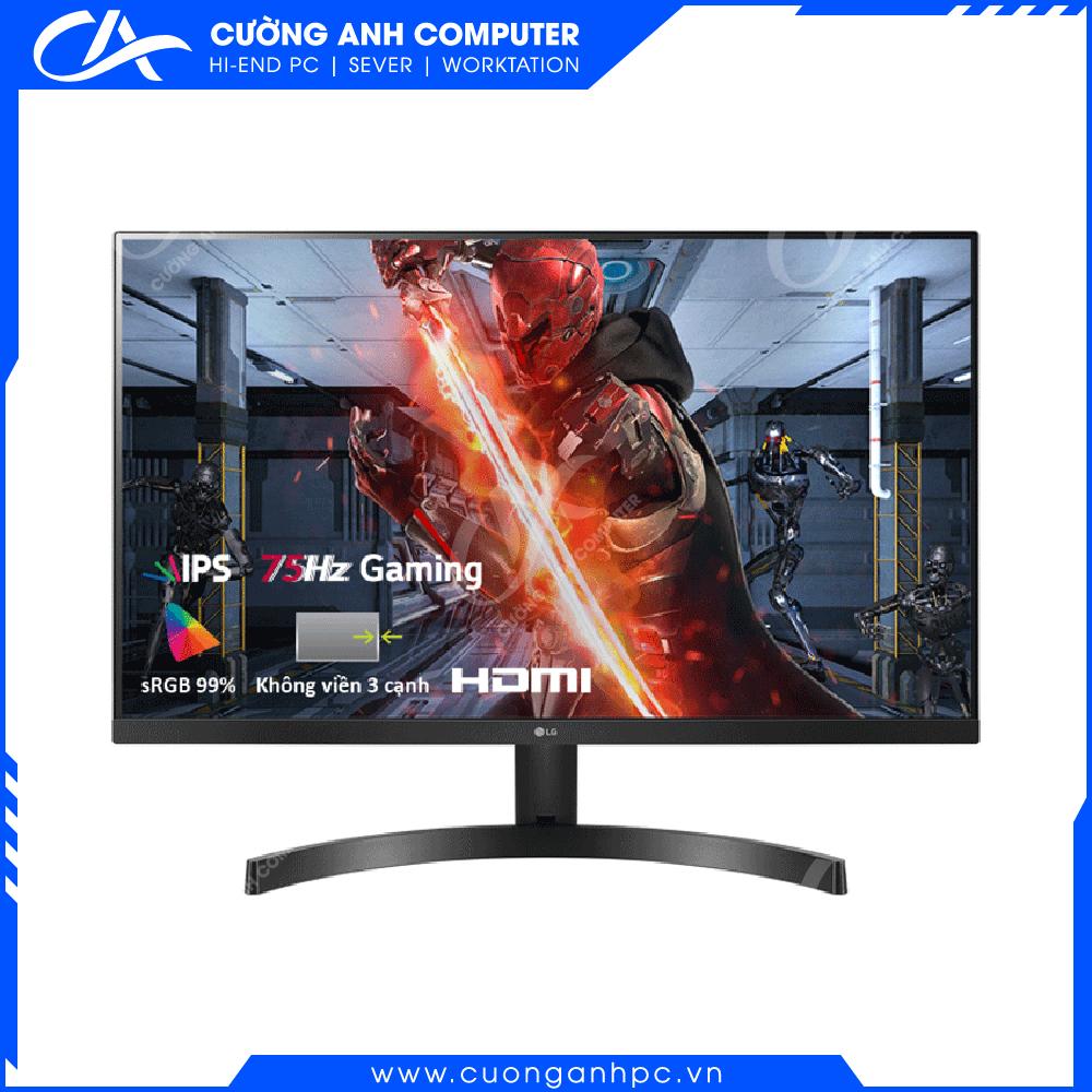 Màn hình máy tính LG 27MK600M-B 27 inch FHD 75Hz