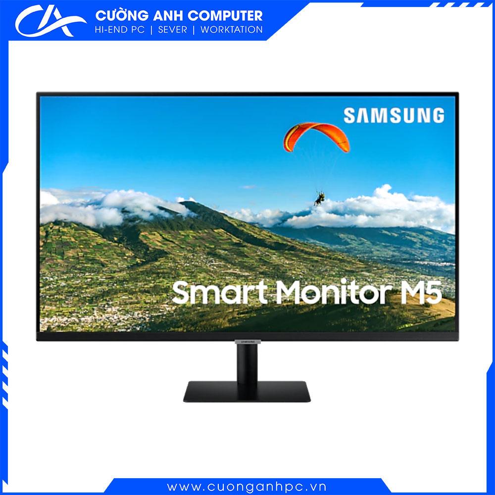 Màn hình Samsung thông minh M5 LS32AM500NEXXV 31.5inch/FHD/VA/60Hz/8ms/250nits/HDMI+USB/Tivi+Remote