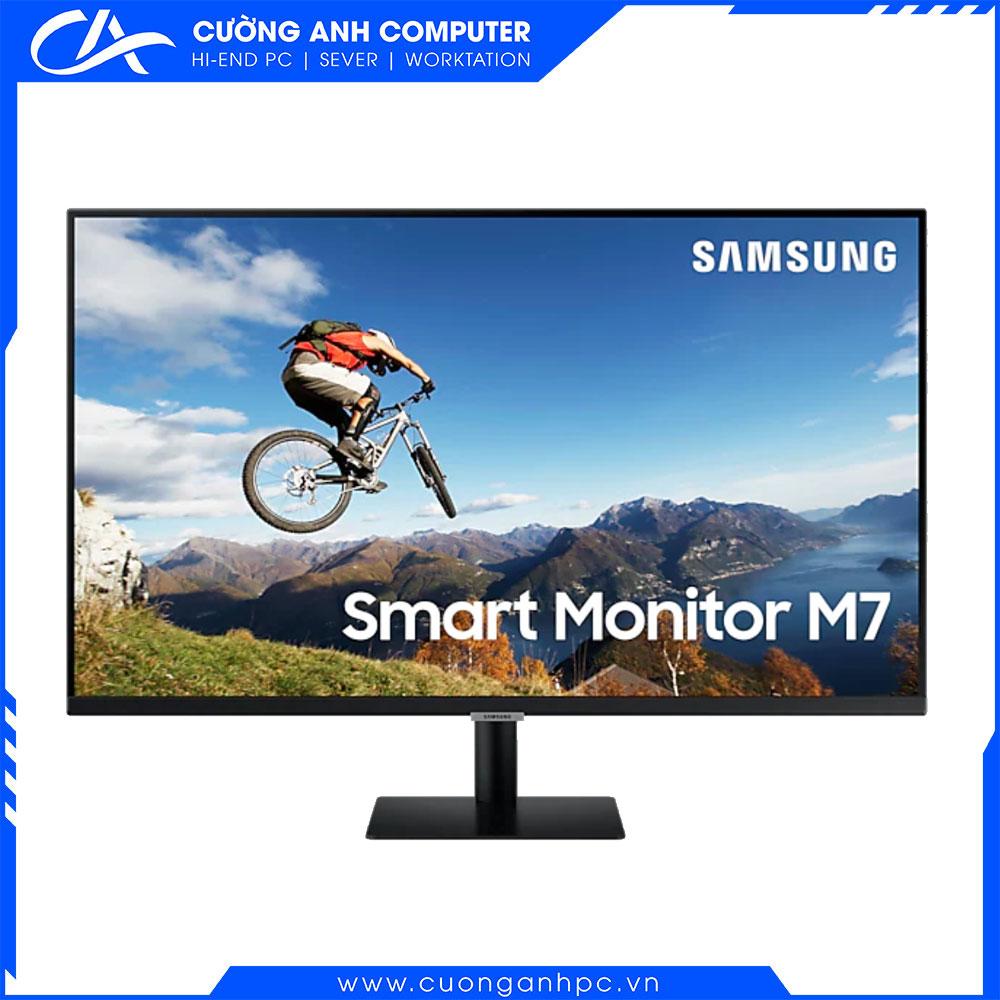 Màn hình Samsung thông minh M7 UHD LS32AM700UEXXV 31.5inch/4K/VA/60Hz/8ms/250nits/HDMI+USB/Tivi+Remote