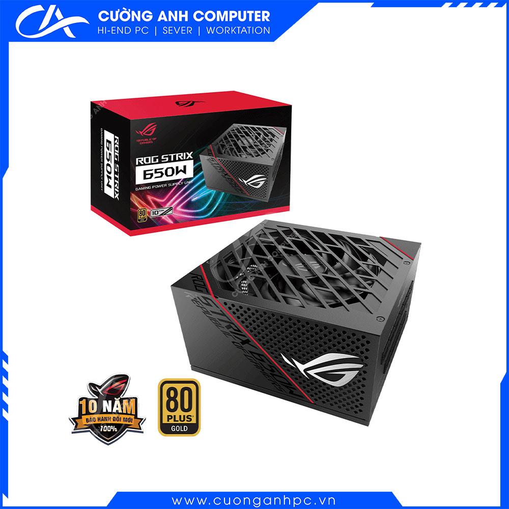 Nguồn Asus ROG Strix 650W Gold-650W 80 Plus Gold Full Modular