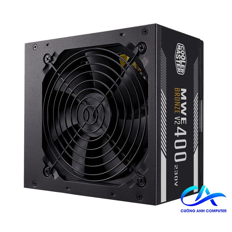 Nguồn máy tính Cooler Master MWE 400 BRONZE - V2 230V