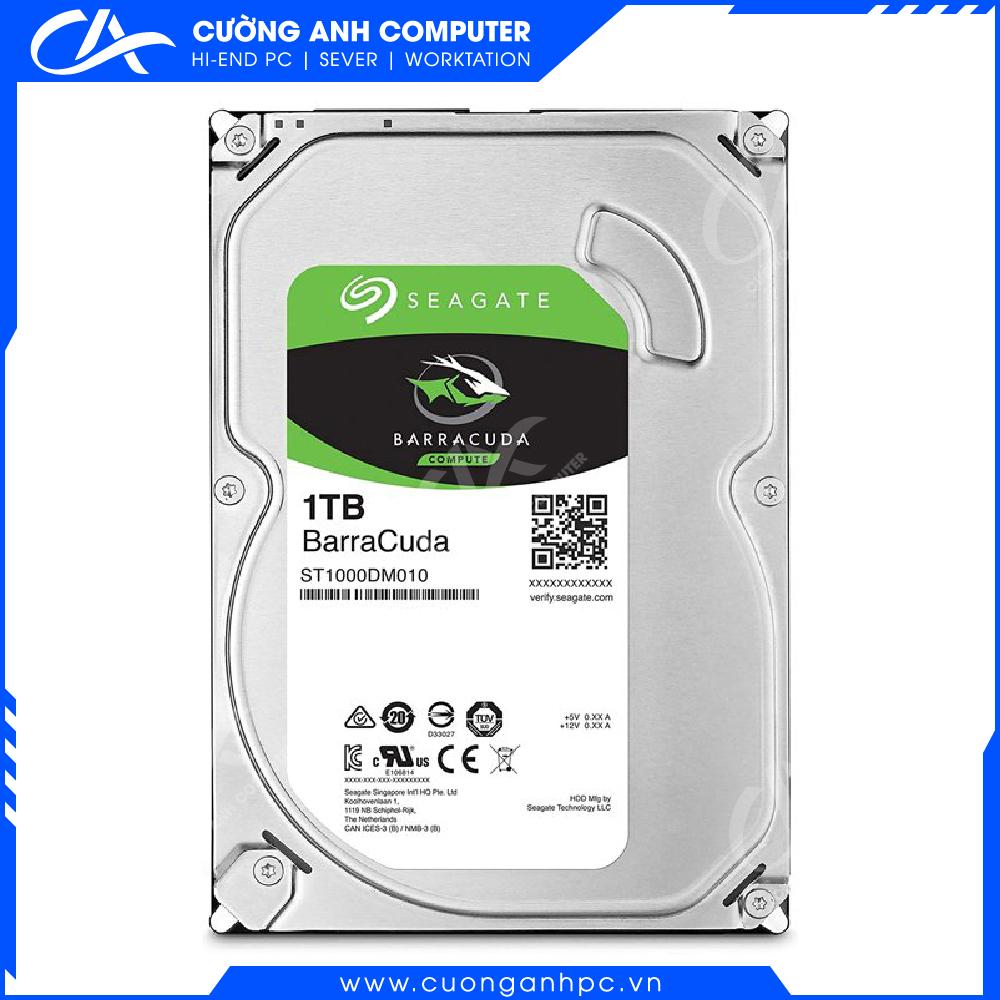 Ổ cứng HDD Seagate BarraCuda 1Tb SATA3 7200rpm