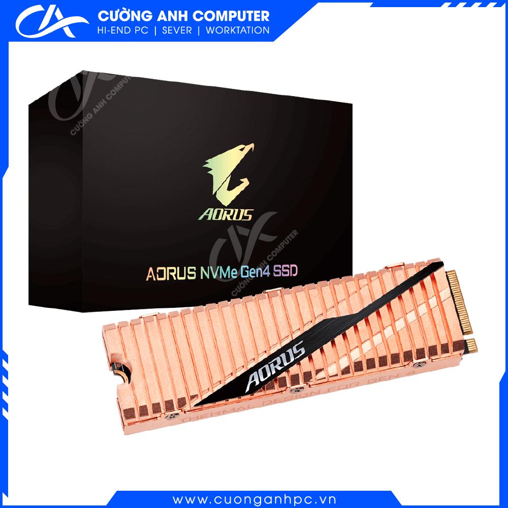 Ổ cứng SSD Gigabyte AORUS NVMe Gen4 1TB (GP-ASM2NE6100TTTD)