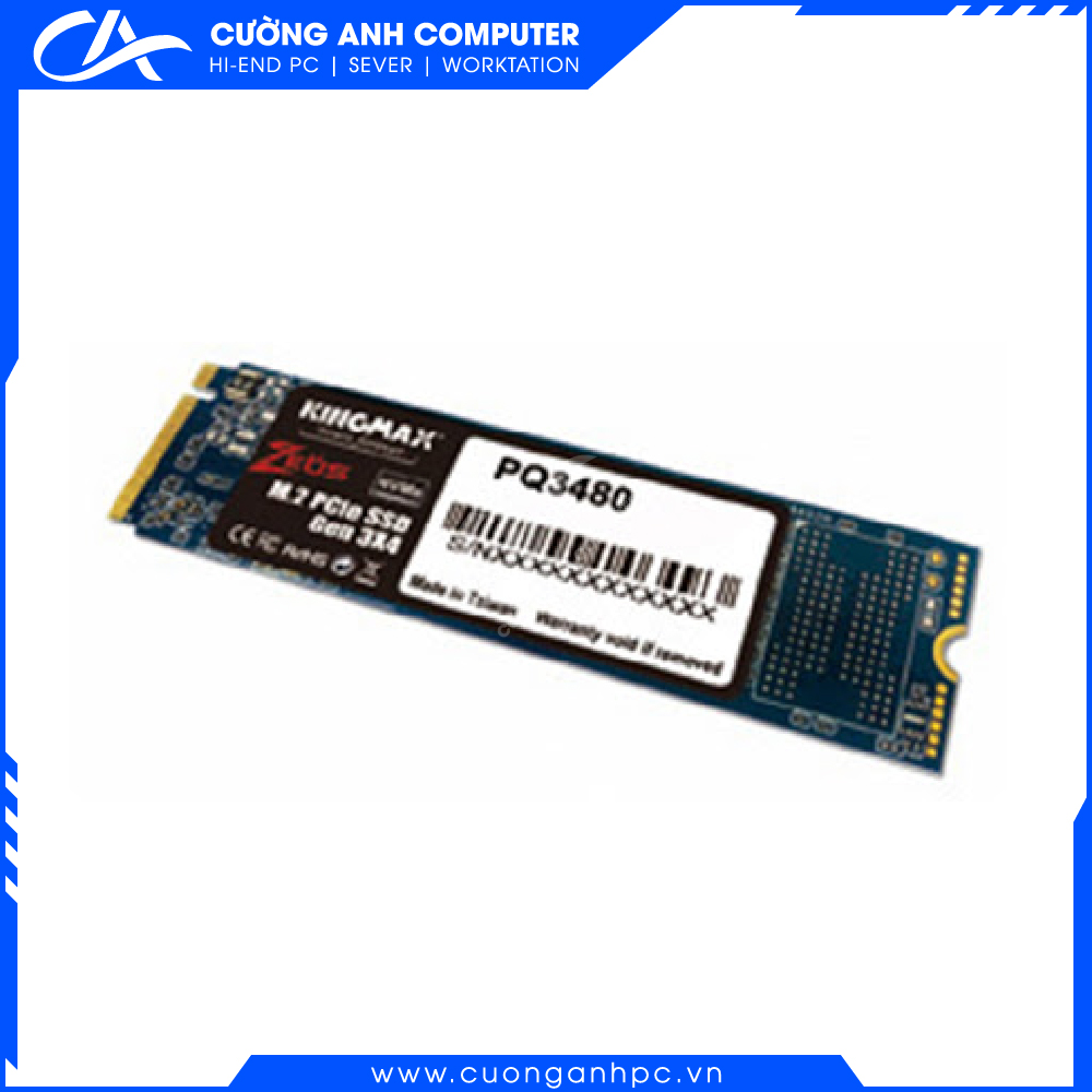 Ổ cứng SSD KINGMAX Zeus PQ3480 128GB NVMe M.2 2280 PCIe Gen 3.0 x4