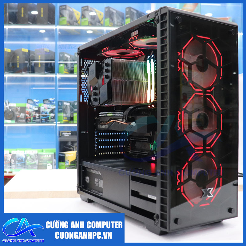 PC CA Gaming 10 i7 9700KF / 32GB RAM / 512GB SSD PCIe / RTX 2060S
