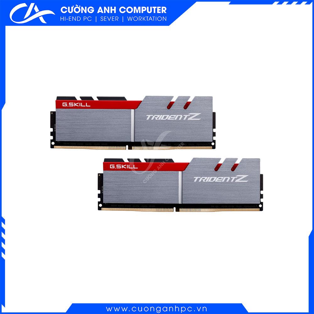 RAM Desktop Gskill Trident Z (F4-3200C16D-32GTZ) 32GB (2x16GB) DDR4 3200Mhz