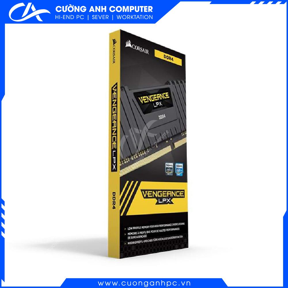 RAM PC CORSAIR Vengeance LPX CMK16GX4M1A2666C16 (1x16GB) DDR4 2666MHz