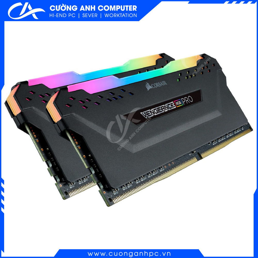 Ram PC Corsair Vengeance Pro RGB 16GB (2x8GB) DDR4 bus 3200Mhz