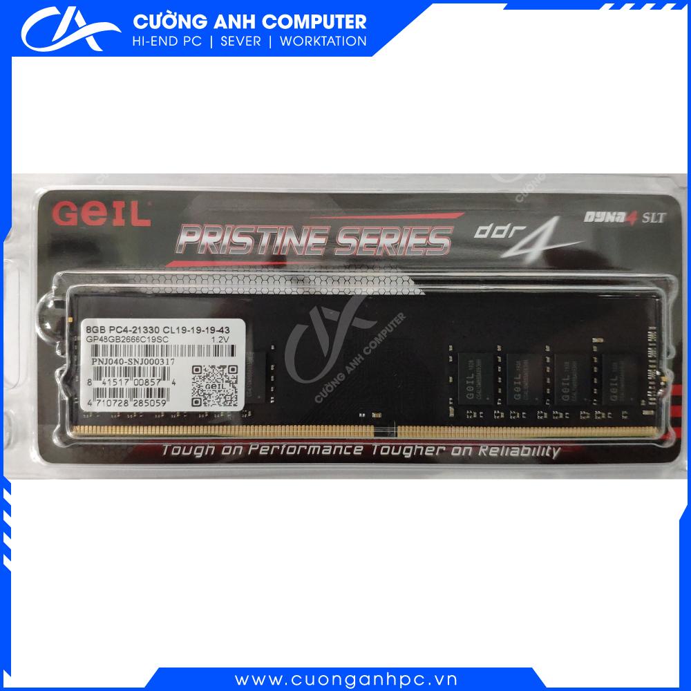 RAM PC Geil Pristine 8Gb DDR4 2666 (GP48GB2666C19SC)