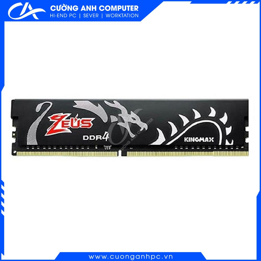 RAM PC KINGMAX Zeus Dragon 8GB DDR4 3000MHz Không Led