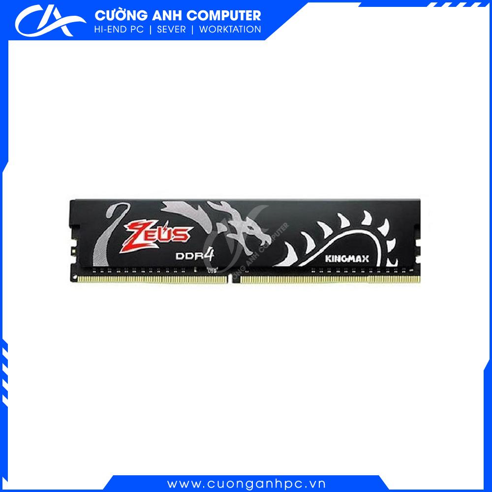 RAM PC KINGMAX Zeus Dragon 8GB DDR4 3200MHz Không Led
