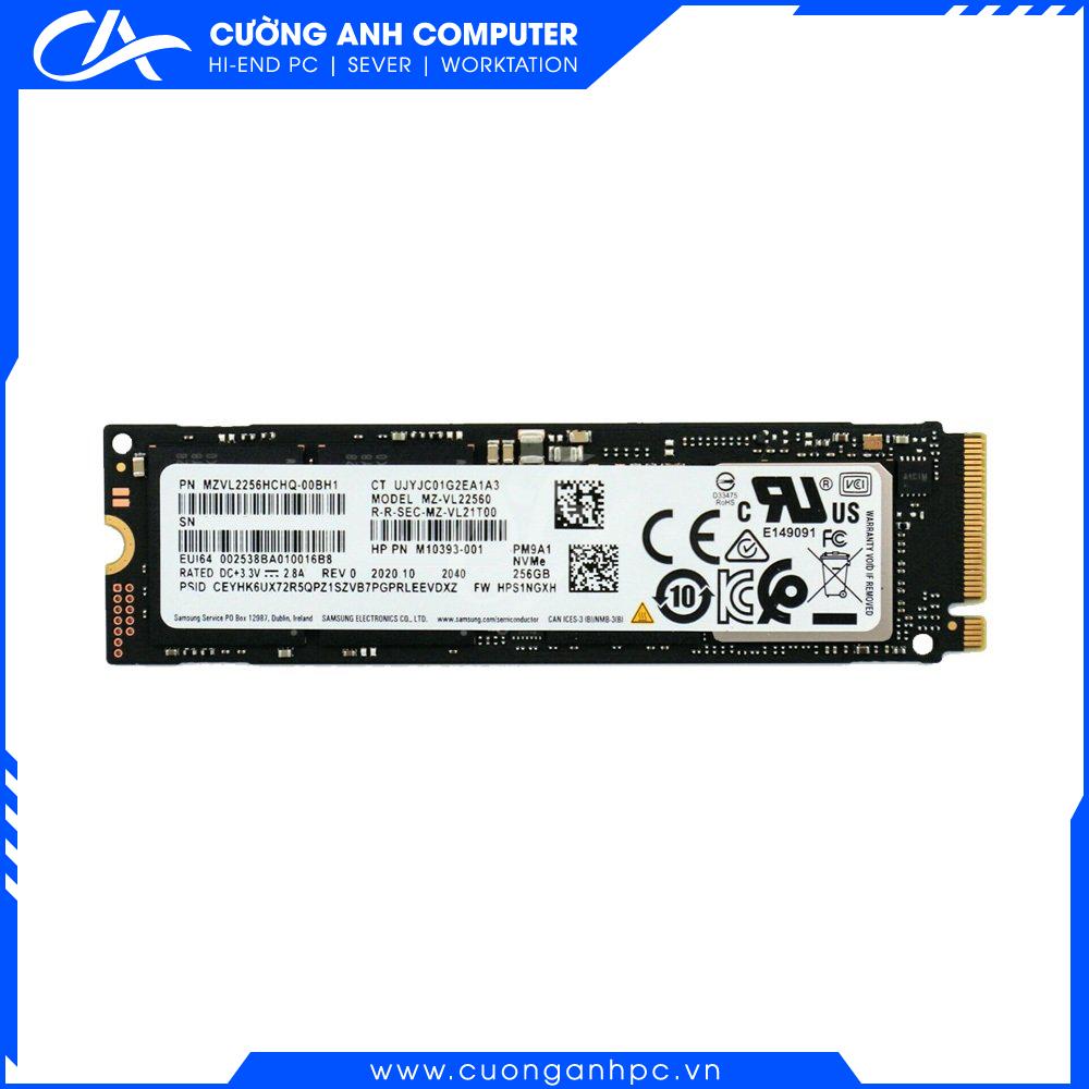 SSD Samsung NVMe PM9A1 M.2 PCIe Gen4 x4 256GB