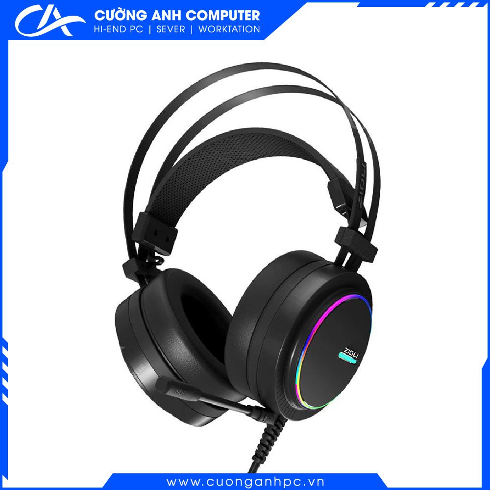 Tai nghe Zidli ZH11S RGB LED Black