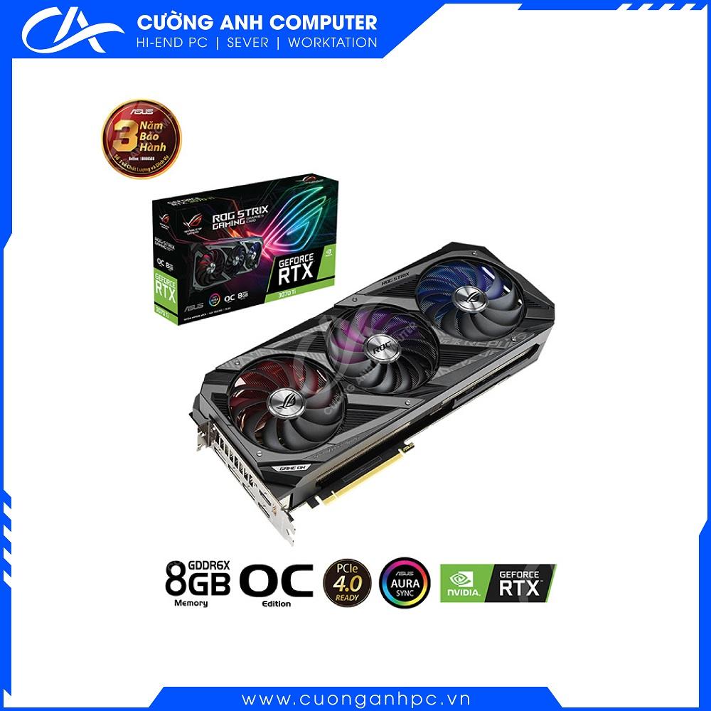 VGA Asus ROG STRIX RTX 3070 Ti OC