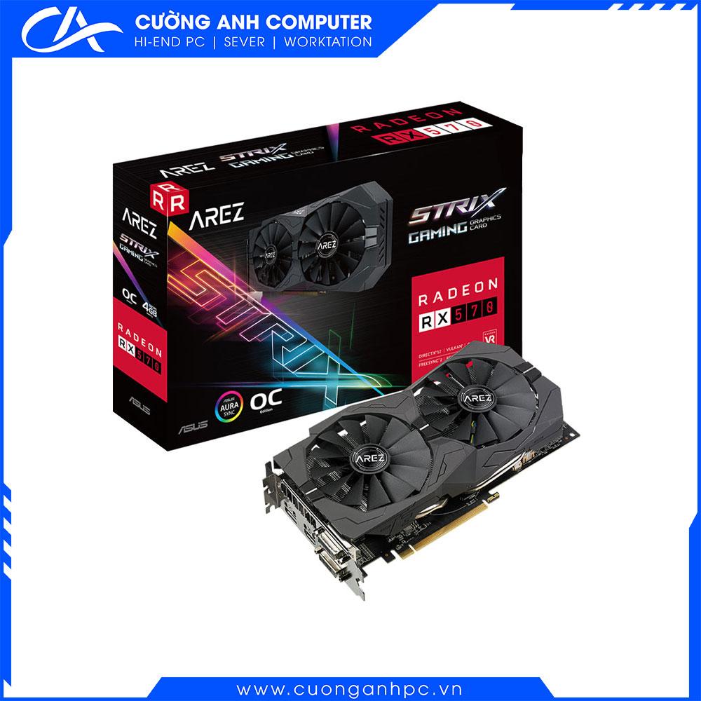 VGA ASUS ROG STRIX RX 570 O8G GAMING