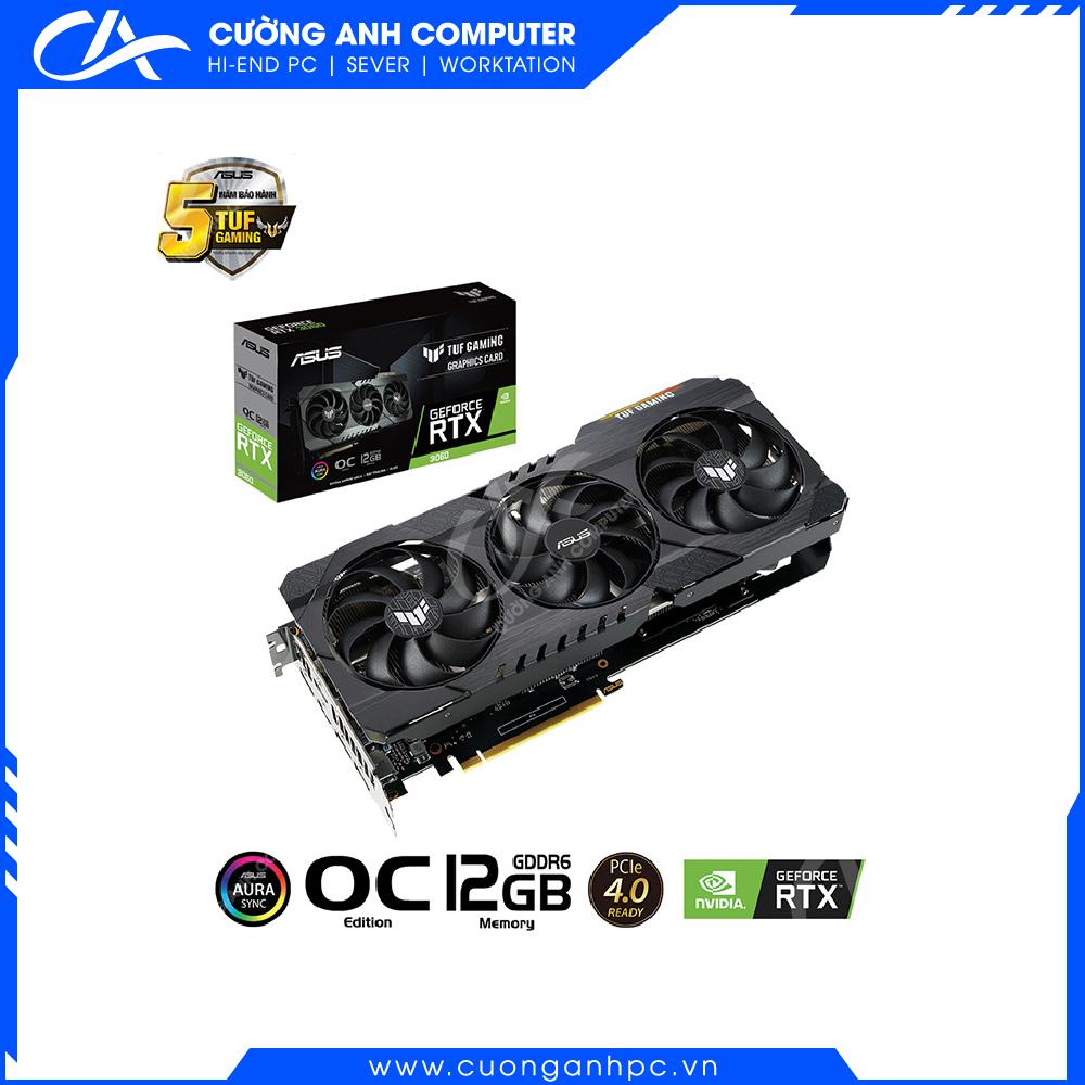 VGA ASUS TUF GeForce RTX 3060 O12G Gaming