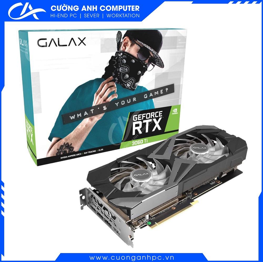VGA GALAX RTX 3060 Ti 8GB EX Black (1-Click OC)