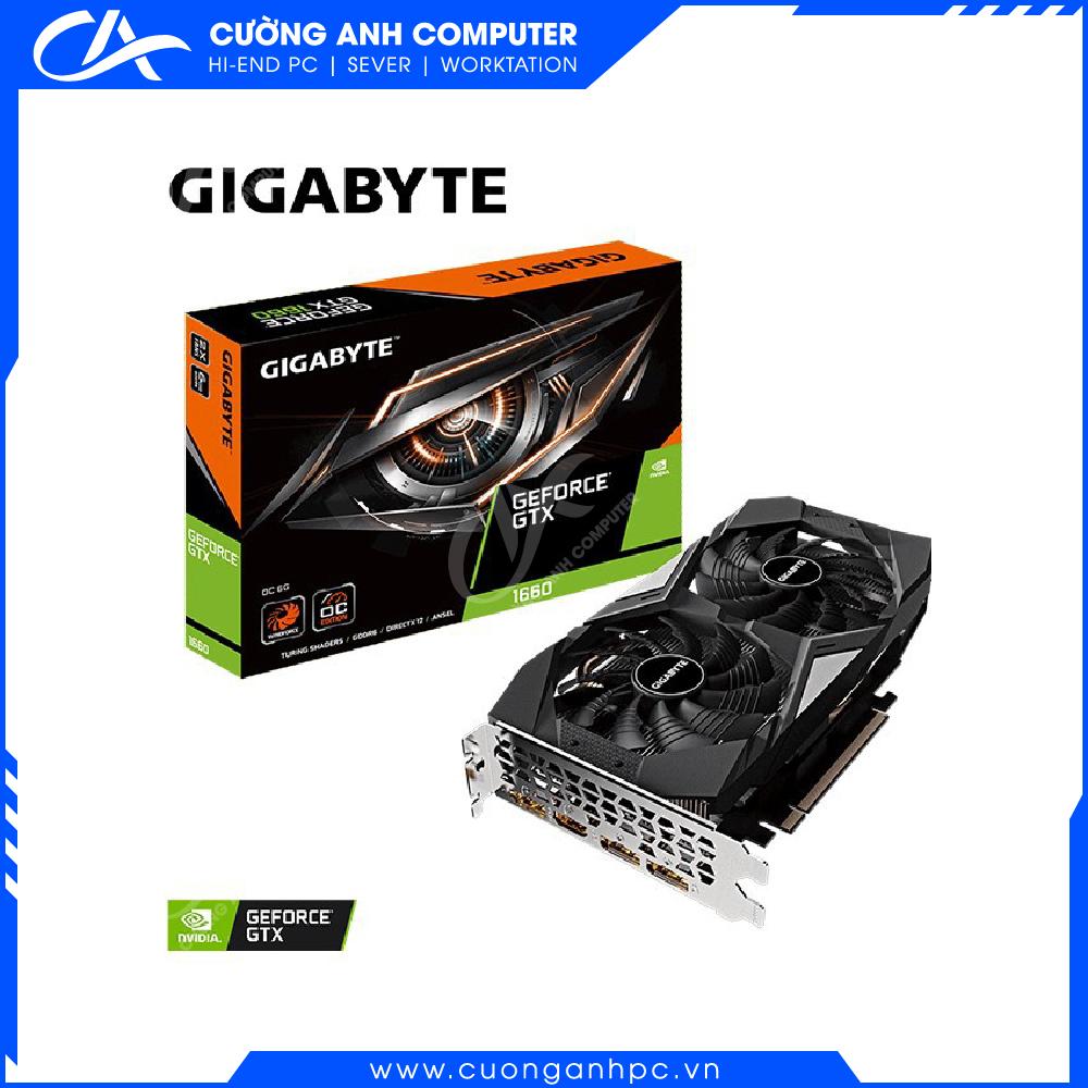 VGA GIGABYTE GeForce GTX 1660 GAMING OC 6G (GV-N1660GAMING OC-6GD)