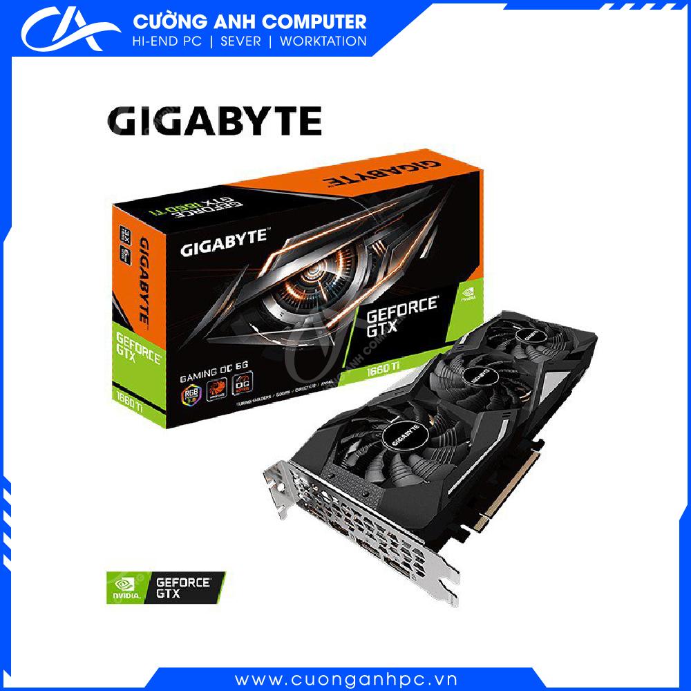 VGA Gigabyte GeForce GTX 1660 Ti GAMING OC 6G (GV-N166TGAMINGOC-6GD)
