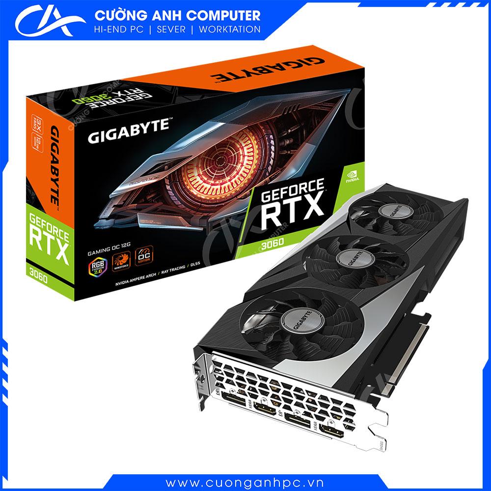 VGA GIGABYTE GeForce RTX 3060 GAMING OC 12G V2