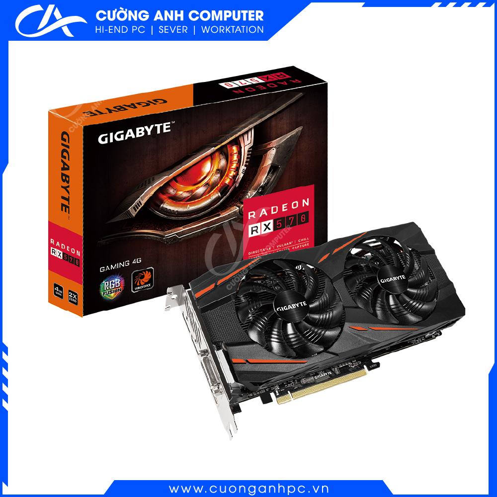 VGA Gigabyte Radeon RX 570 Gaming 4G (GV-RX570GAMING-4GD)