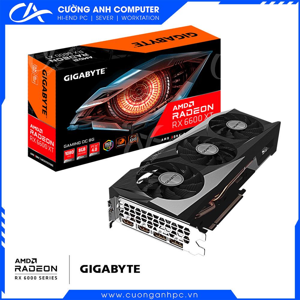 VGA GIGABYTE Radeon RX 6600 XT GAMING OC 8G (GV-R66XTGAMING OC-8GD)