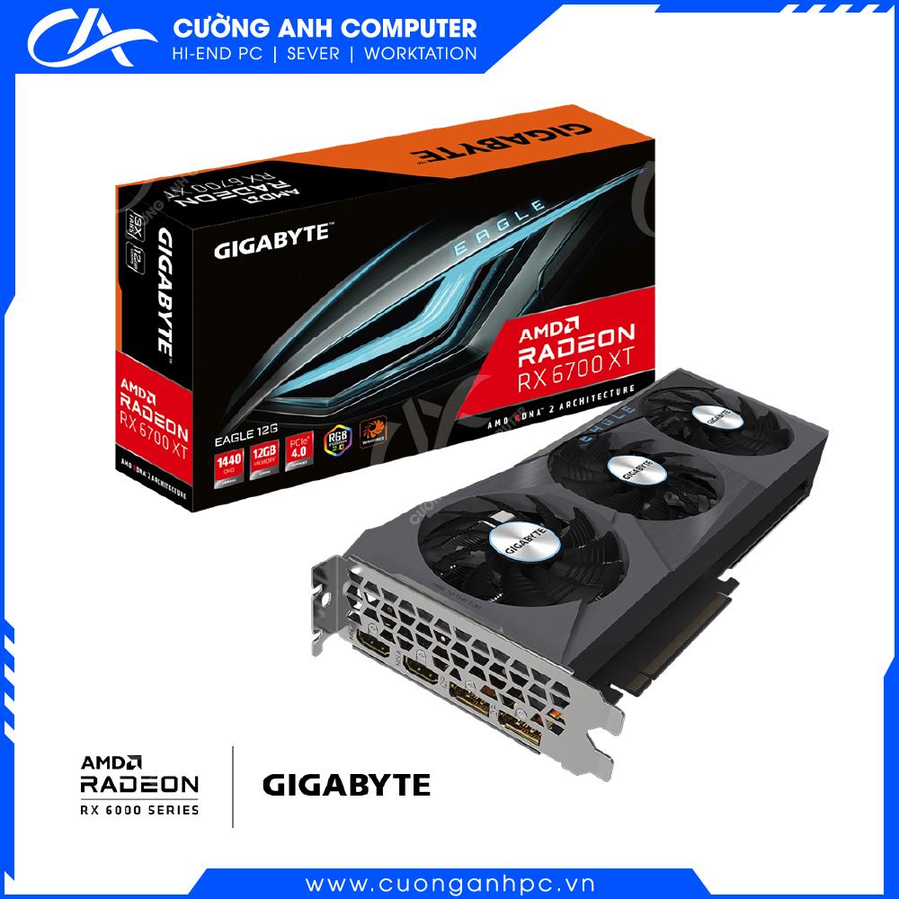 VGA GIGABYTE Radeon RX 6700 XT EAGLE 12G (GV-R67XTEAGLE-12GD)