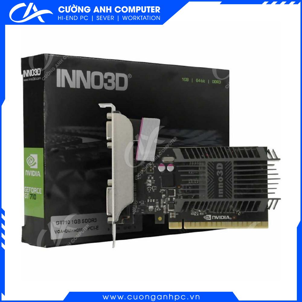 VGA INNO3D GEFORCE GT 710 1GB GDDR3 (N710-1SDV-D3BX)