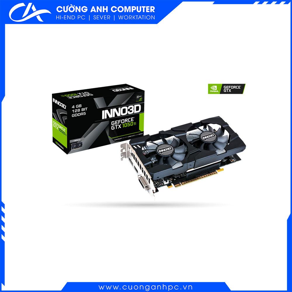 VGA INNO3D GeForce GTX 1050 Ti Twin X2 4G