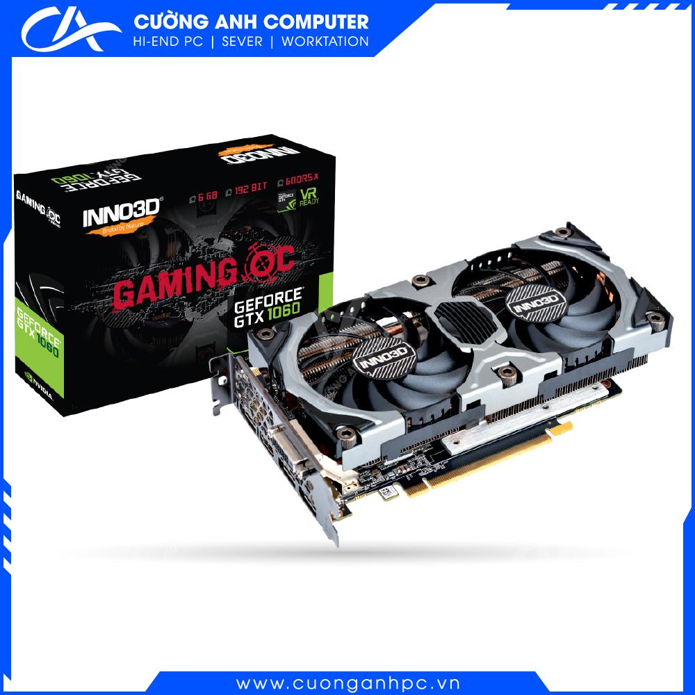 VGA INNO3D GEFORCE GTX 1060 6GB GDDR5X GAMING OC