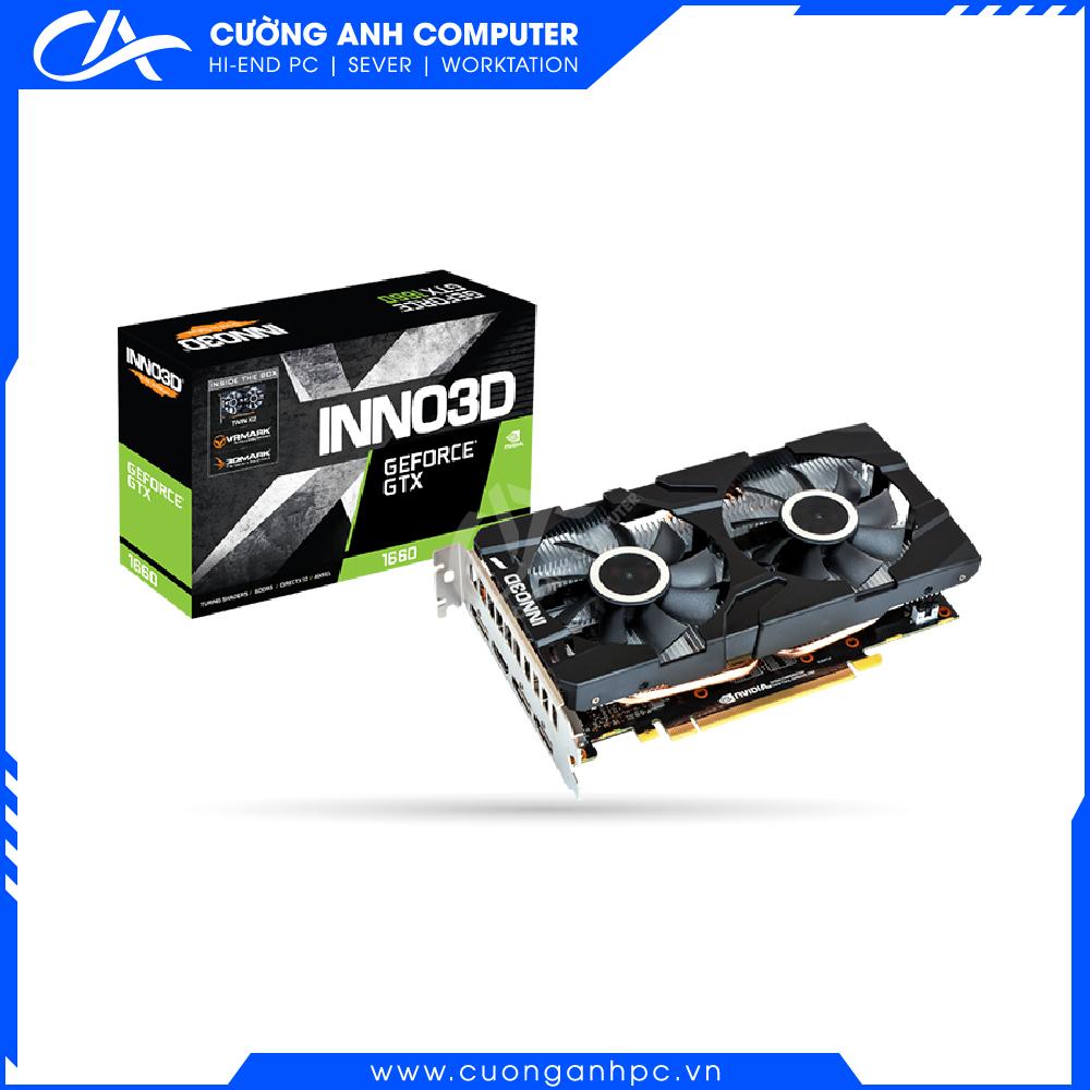 VGA INNO3D GEFORCE GTX 1650 X2 OC 4GB