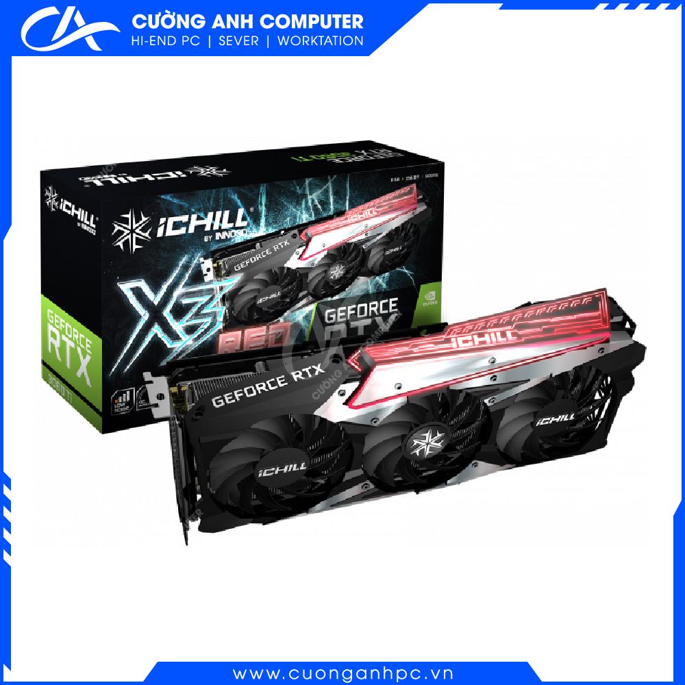 VGA INNO3D GEFORCE RTX 3060 ICHILL X3 RED