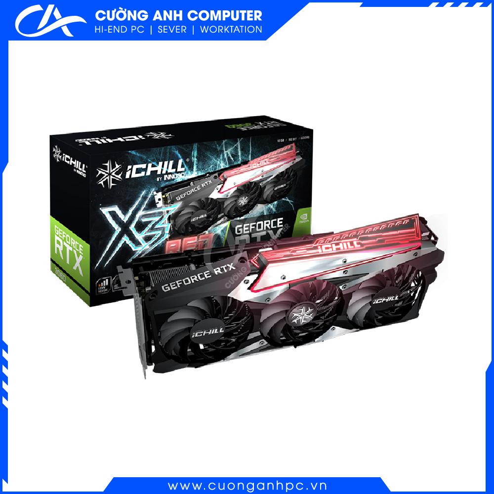 VGA INNO3D GEFORCE RTX 3060 TI ICHILL X3 RED