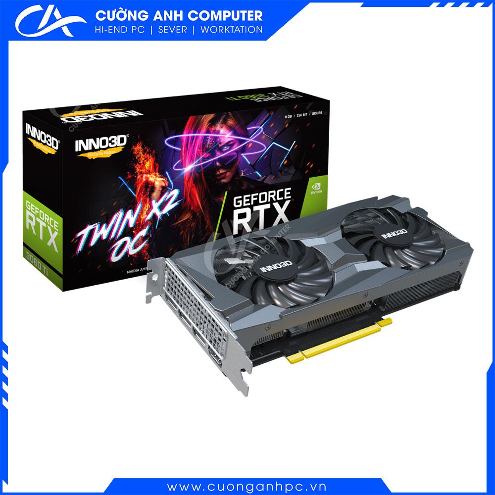 VGA INNO3D GEFORCE RTX 3060 TI TWIN X2 OC