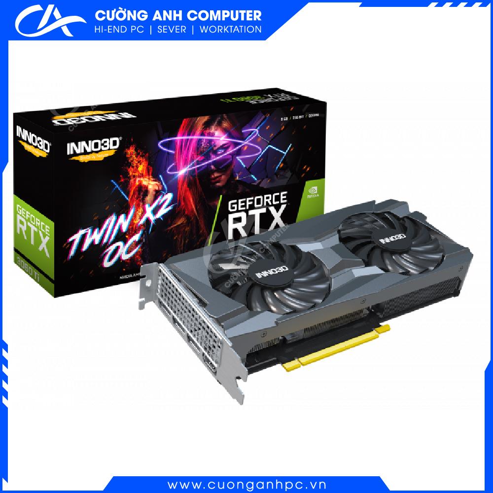 VGA INNO3D GEFORCE RTX 3060 TI TWIN X2